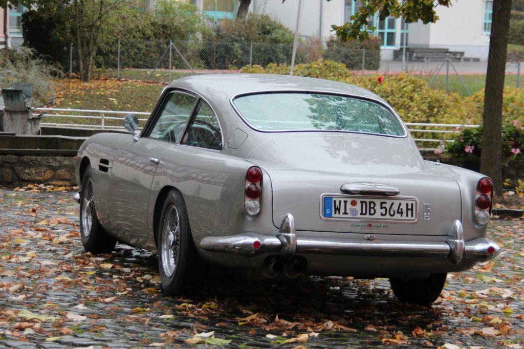 """In """"Skyfall"""" ist das Bond-Auto explodiert Foto: © David Brown Automotive"""