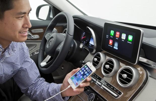 Internet im Auto - Mercedes, Volvo und Ferrari nutzen Apple Carplay