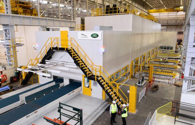 Jaguar Land Rover investiert 54 Millionen Euro in Halewood