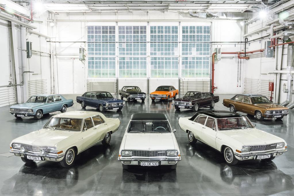 KAD-Opel für Reisende von Rang zur Techno-Classica