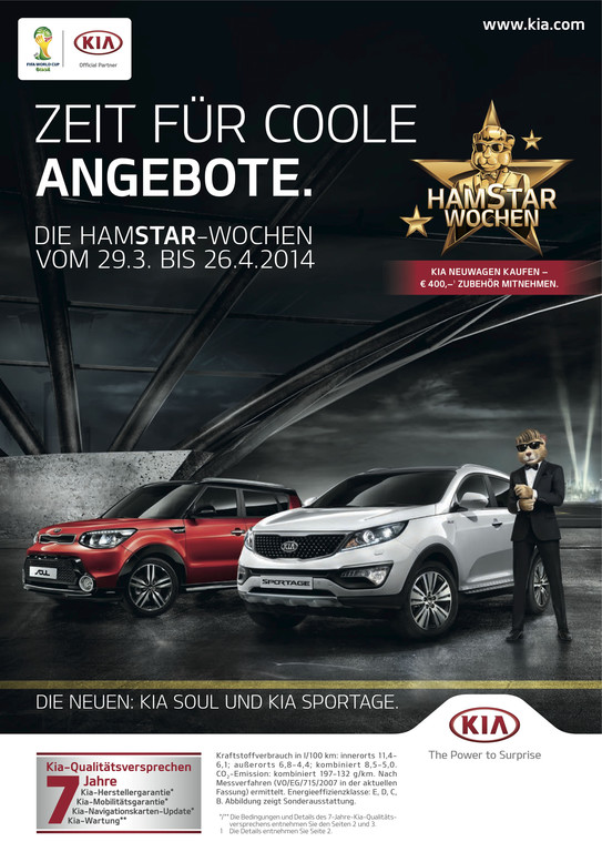 Kia-Werbekampagne kündigt