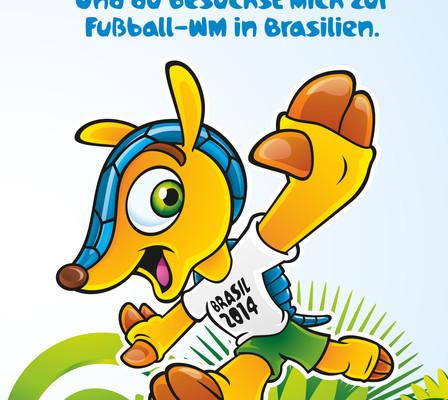 Kia sucht kleinen Fußball-Fan für WM-Abenteuer in Brasilien
