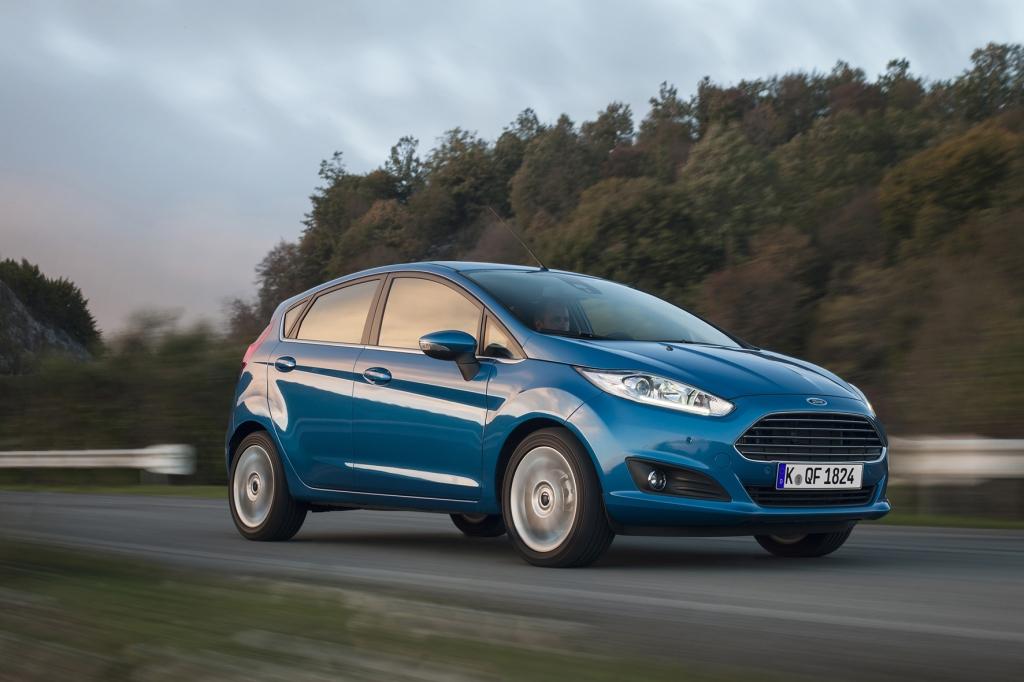 Kommt mit einem Verbrauch von 4,3 Litern aus: der EcoBoost-Dreizylinder im Ford Fiesta. © Ford