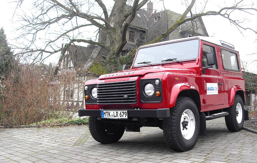Land Rover Defender: Elf verschiedene Karosserieversionen stehen zur Verfügung.