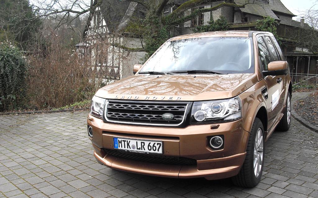 Land Rover Freelander: Insgesamt stehen zwei Diesel und ein Benziner zur Wahl.