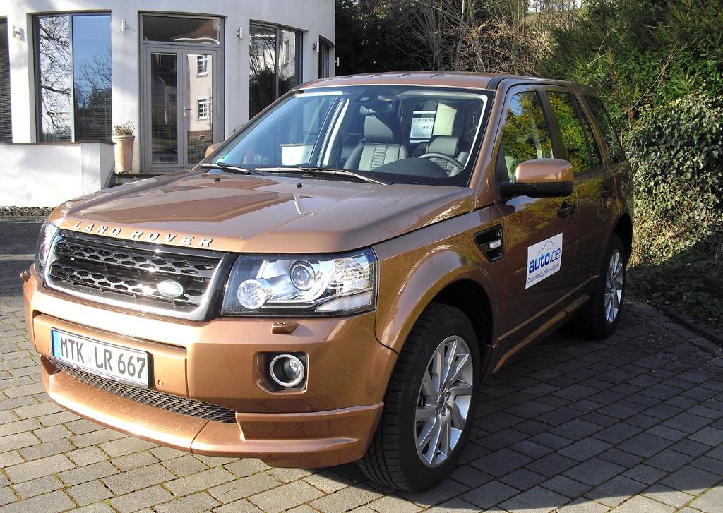 Land Rover Freelander, hier als Diesel mit 140/190 kW/PS.