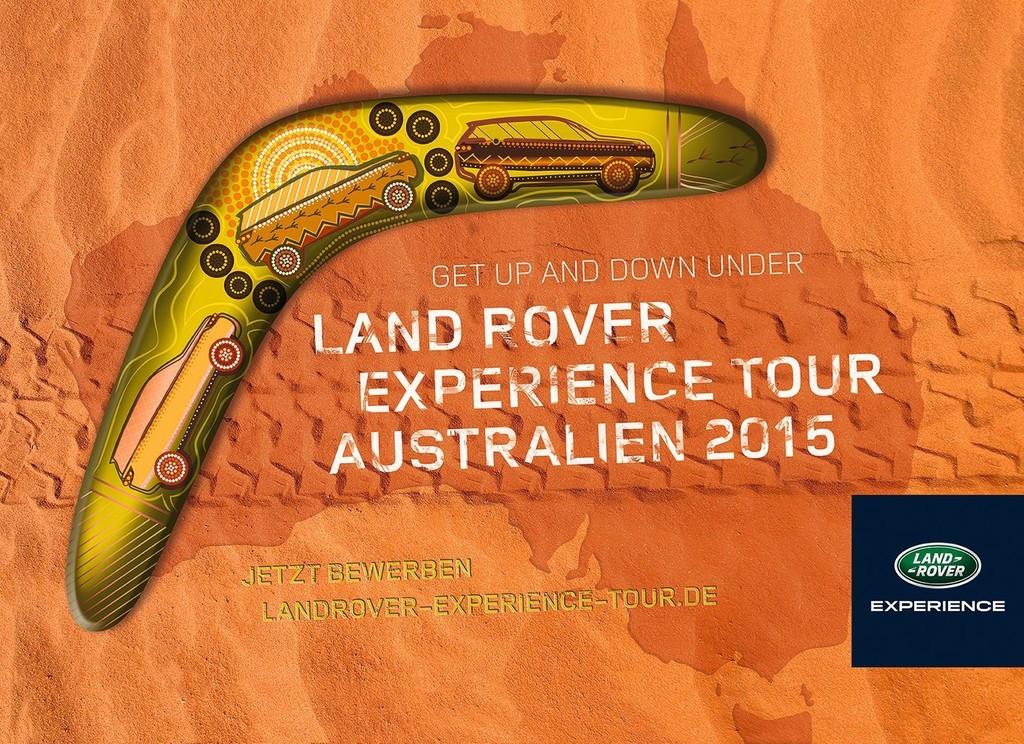 Land Rover sucht Abenteurer für Australien-Tour