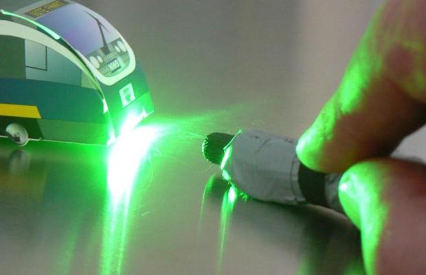 Laserpointer-Attacken im Straßenverkehr