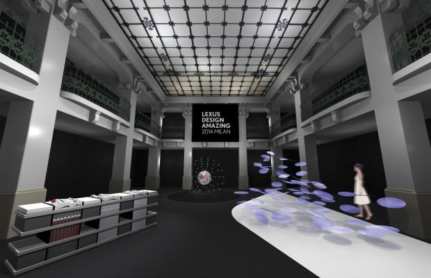 Lexus Design Ausstellung auf der Mailänder Designwoche 2014
