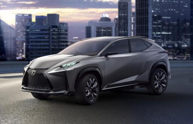 Lexus zeigt neuen Crossover NX