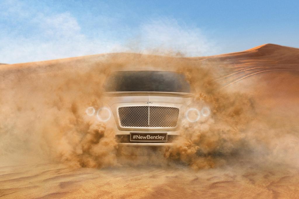 Luxus-SUV von Bentley - Erstes Foto vom Riesen-Allrader