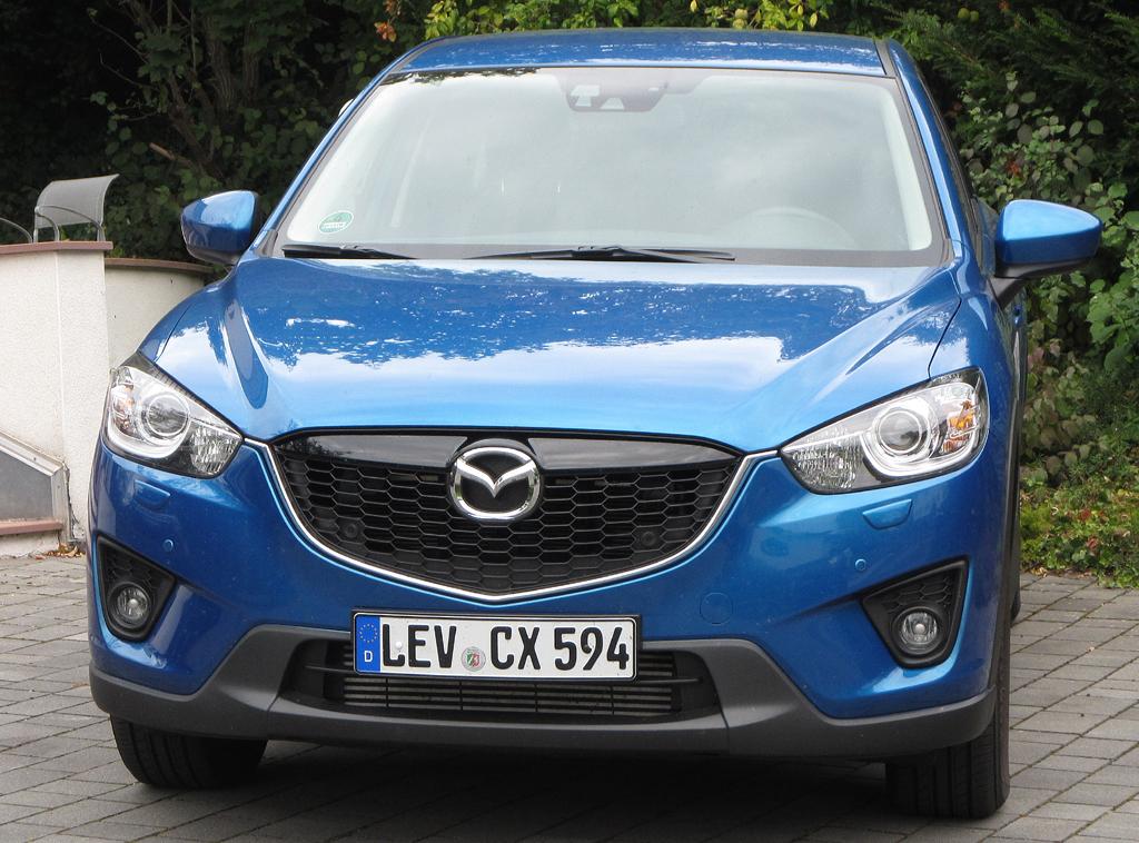 Mazda CX-5: Blick auf die Frontpartie.