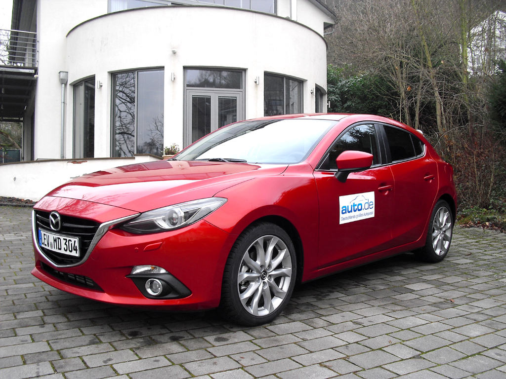 Mazda3, hier als Fließheck-Diesel mit 110/150 kW/PS.