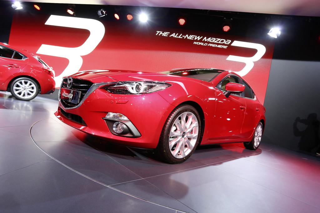 Mazda3 wird jetzt auch in Thailand gebaut