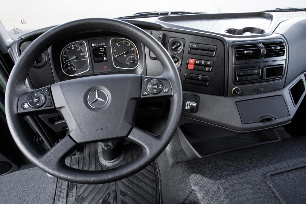 Mercedes Atego: Starker Antritt, leise Töne