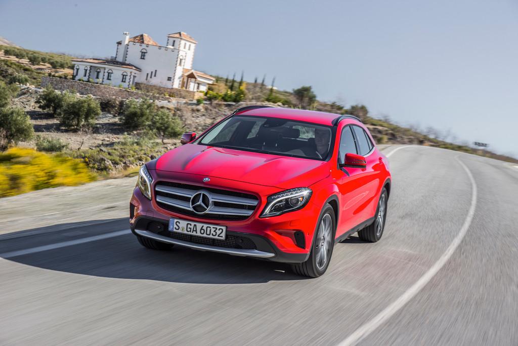 Mercedes-Benz GLA erhält Umweltzertifikat