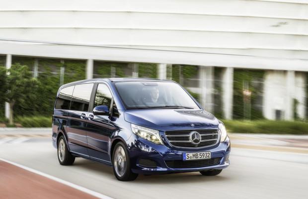 Mercedes-Benz V-Klasse ab jetzt bestellbar