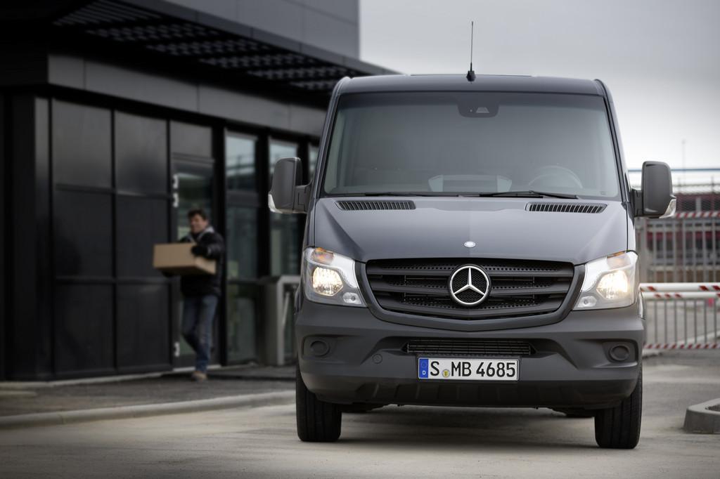 Mercedes-Benz Vans steigert Absatz