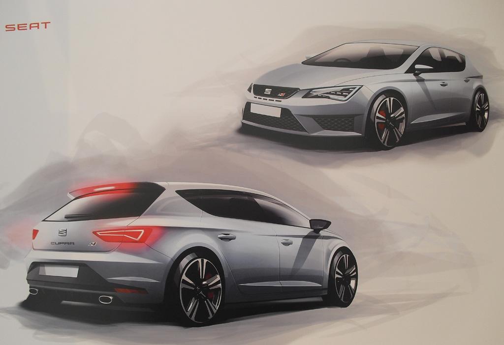 Mit Leidenschaft fürs Design, hier beim León Cupra, dürfte Seat auch beim neuen SUV zu Werke gehen.