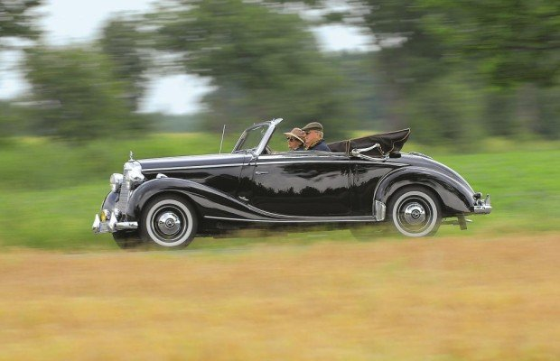 Mit dem 170 S Cabriolet A bot Mercedes-Benz bereits 1949 einen flotten Zweisitzer an