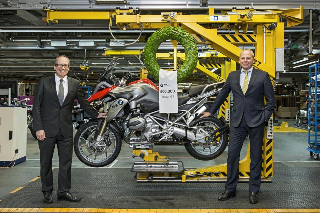 Motorrad: BMW macht die 500 000 voll