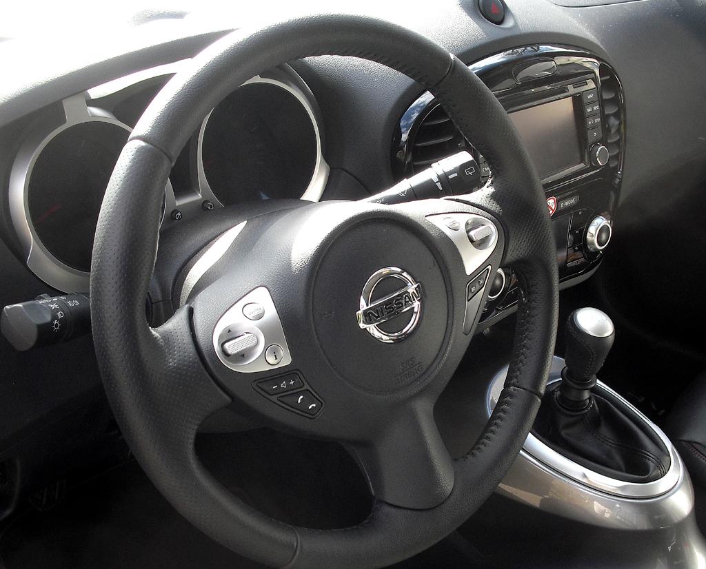 Nissan Juke: Blick ins Cockpit.