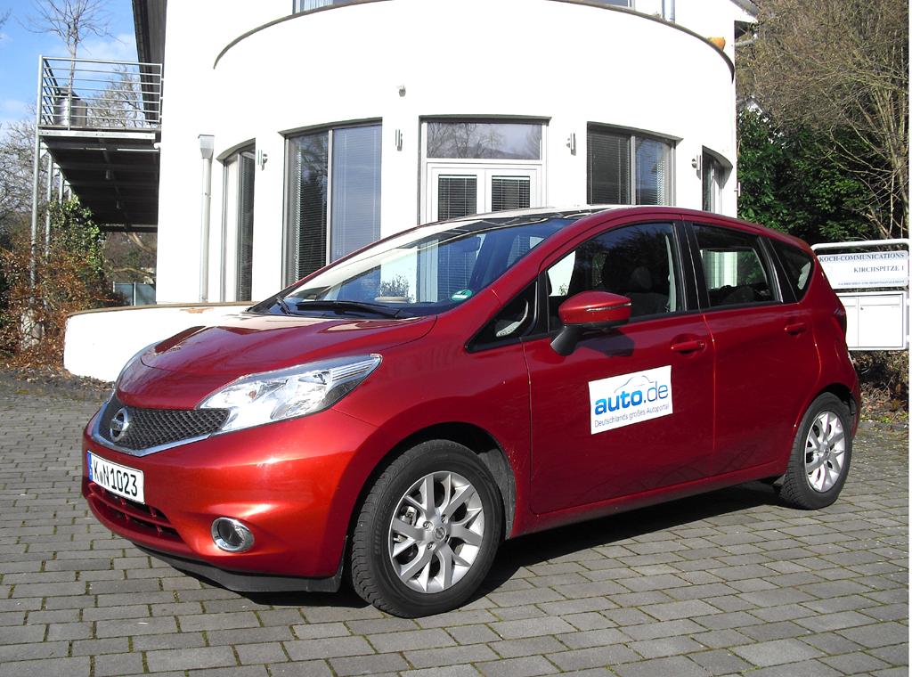 Nissan Note, hier als Acenta-Basisbenziner mit 59/80 kW/PS.