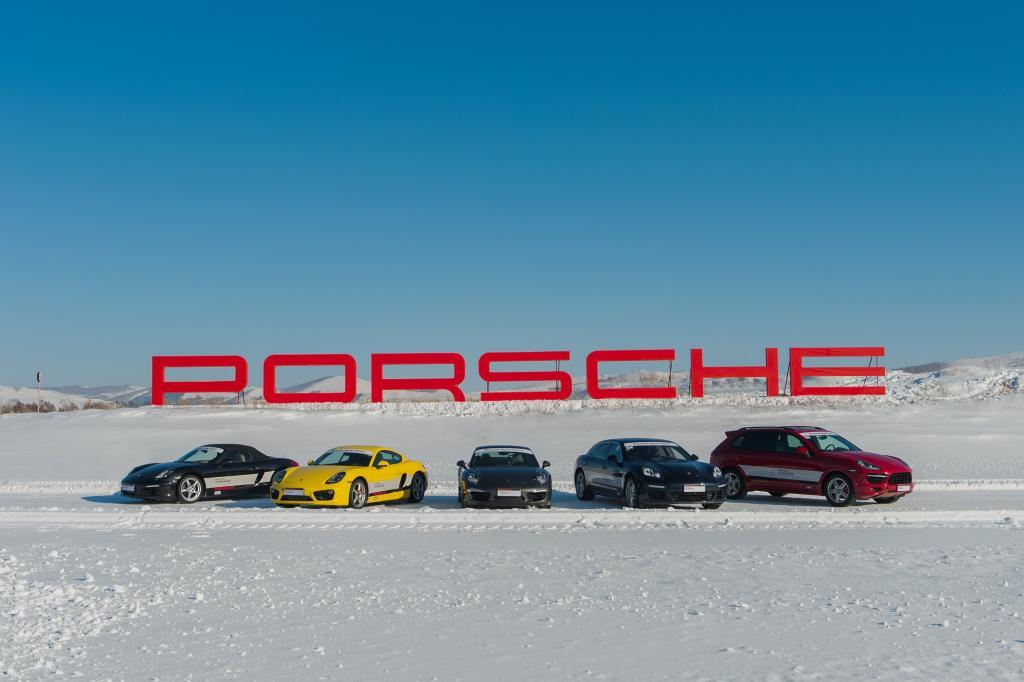 Panorama: Porsche Snowforce China - Nicht nur Schnee