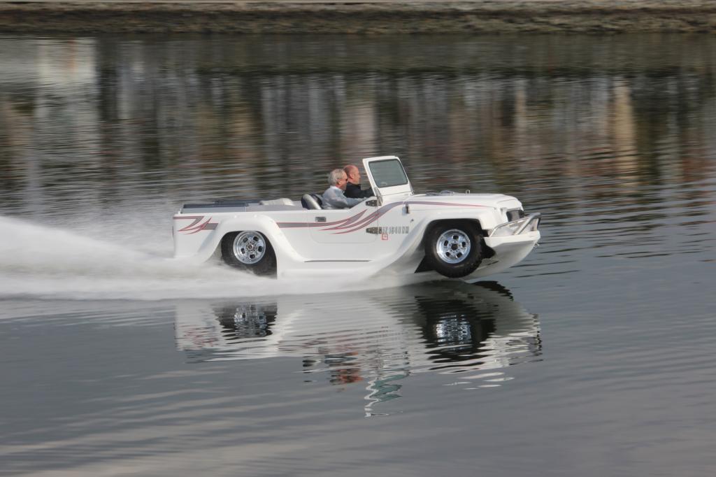 Panorama: Watercar - Eine Seefahrt, die ist lustig