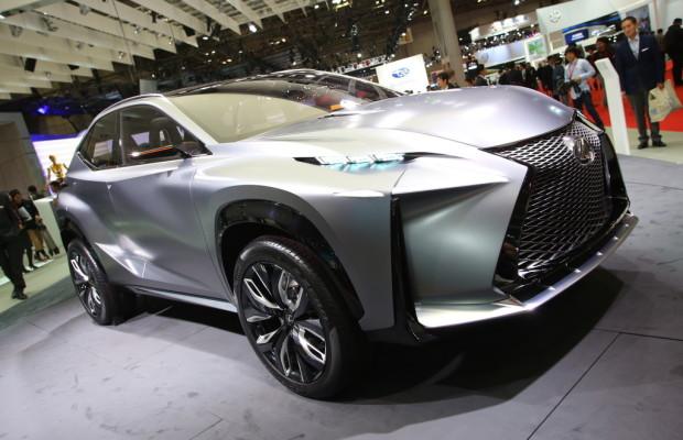 Peking 2014: Lexus zeigt den NX