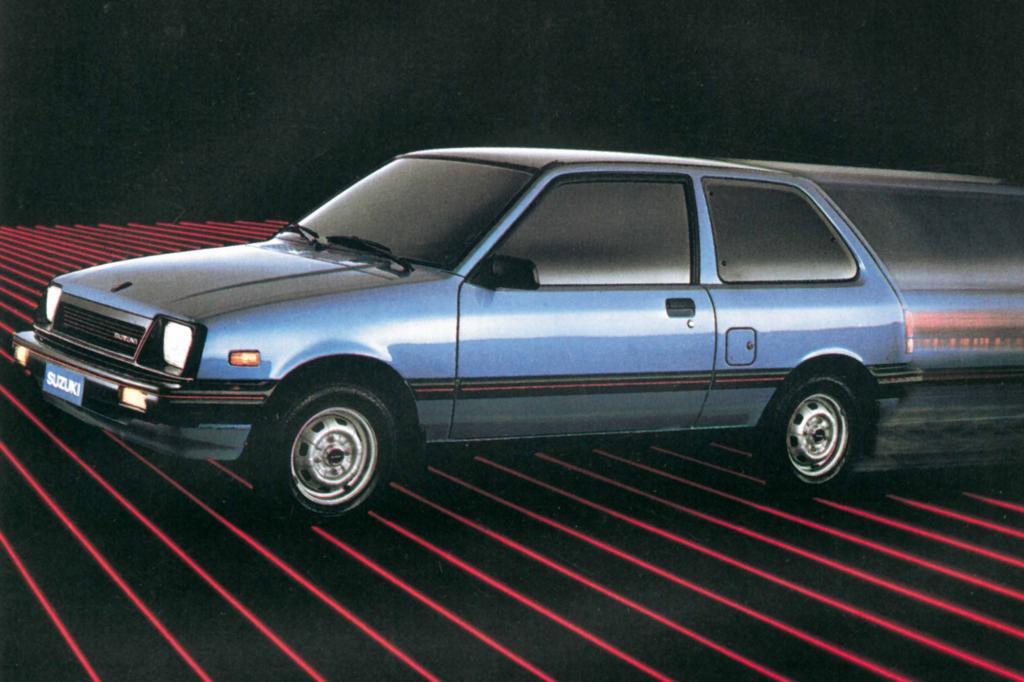 Platz 3: Suzuki Swift SA310 ab 1984