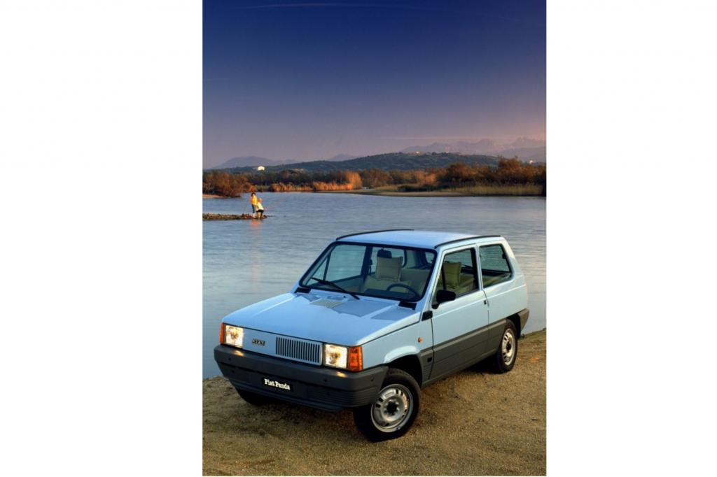 Platz 5: Fiat Panda ab 1980