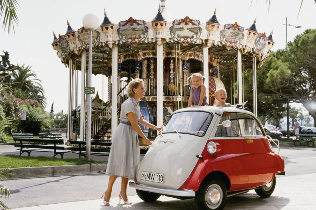 Platz 7: BMW Isetta ab 1955