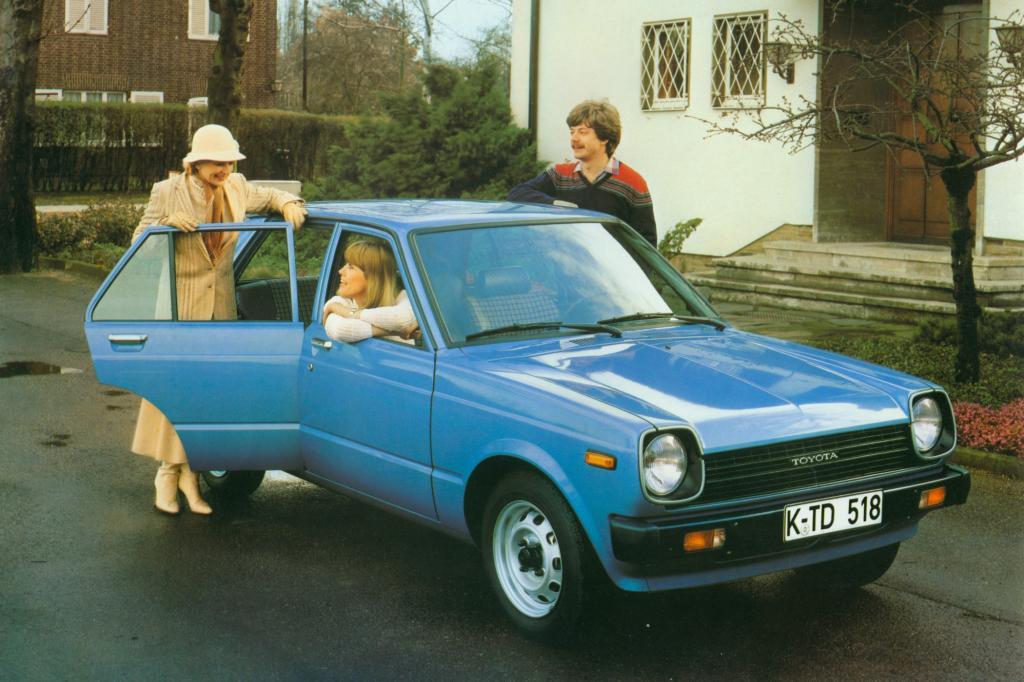 Platz 9: Toyota Starlet ab 1978