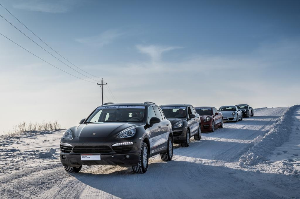 Porsche Snowforce China