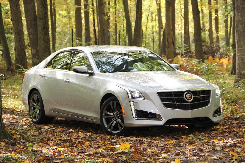 Pressepräsentation Cadillac CTS: Klare Kante