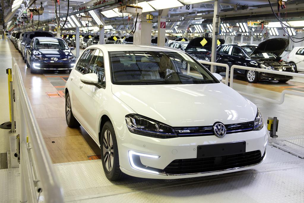 Produktionsstart für Volkswagen E-Golf