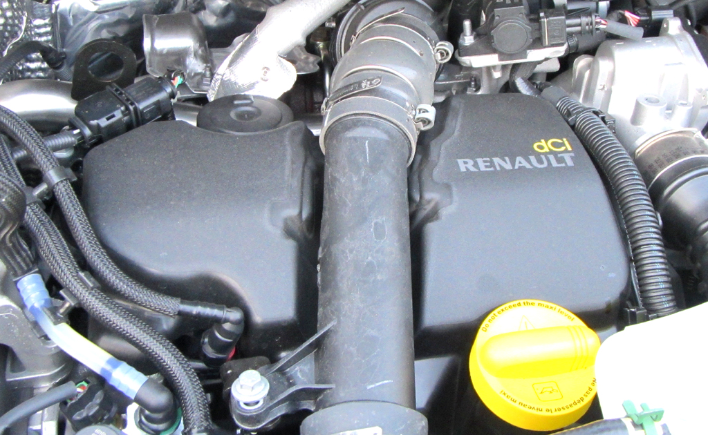 Renault Kangoo: Blick auf den 1,5-Liter-Selbstzünder.