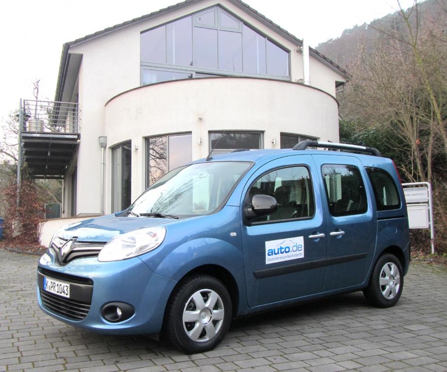 Renault Kangoo, hier als mittlerer Diesel mit 66/90 kW/PS.