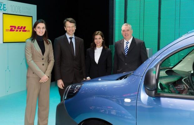 Renault und Post schließen Rahmenvertrag zur Elektromobilität