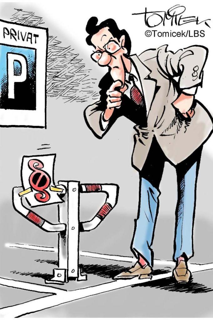 Richter verbieten Parkplatz-Schutz
