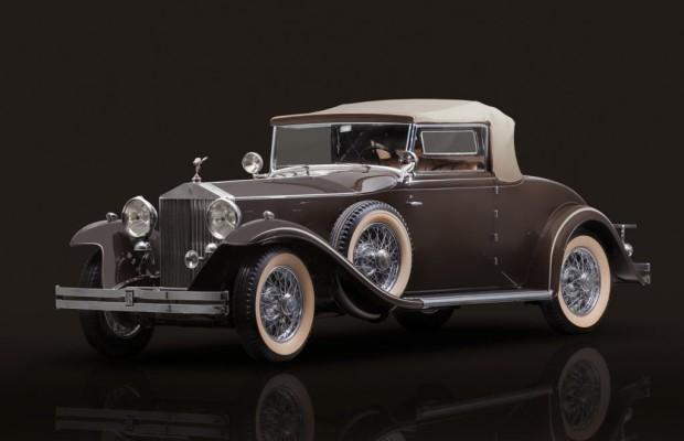 Rolls-Royce auf der Retro Classics in Stuttgart