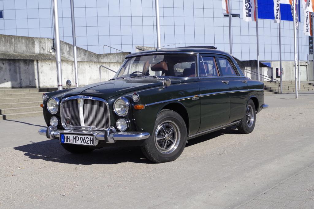 Rover PB5 V8 3 ½ Litre Saloon - Der V8 macht die Musik