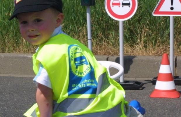 Schulen geben bei Verkehrserziehung Gas
