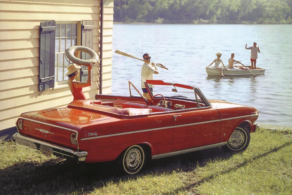 Sehen und Gesehen werden - hier ein Chevrolet Nova von 1962
