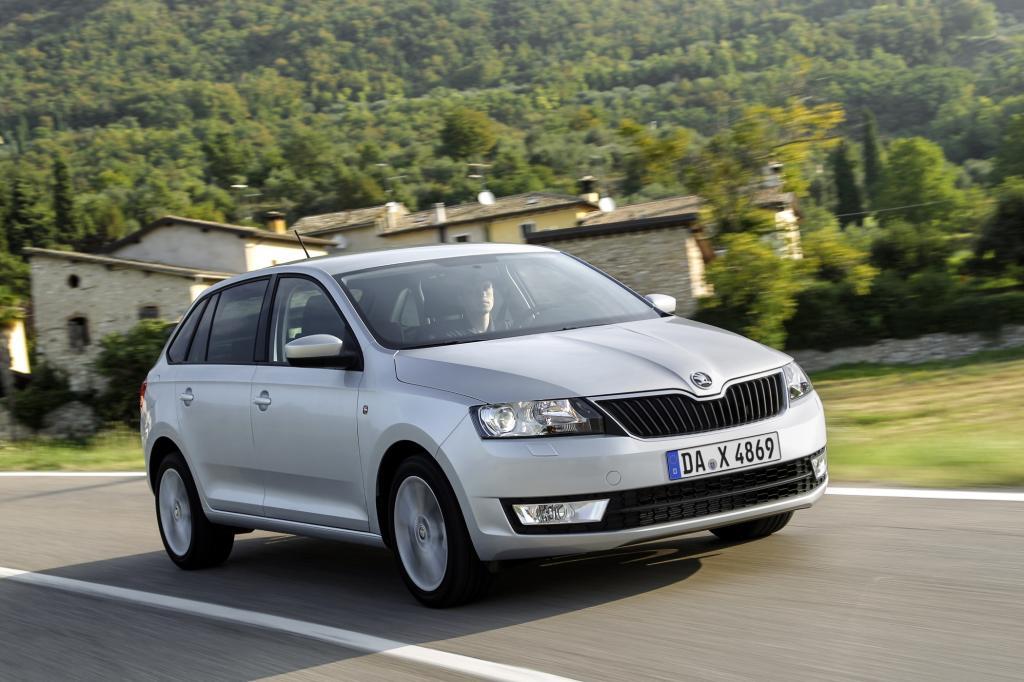 Skoda macht mit dem Rapid Spaceback dem VW Golf Konkurrenz