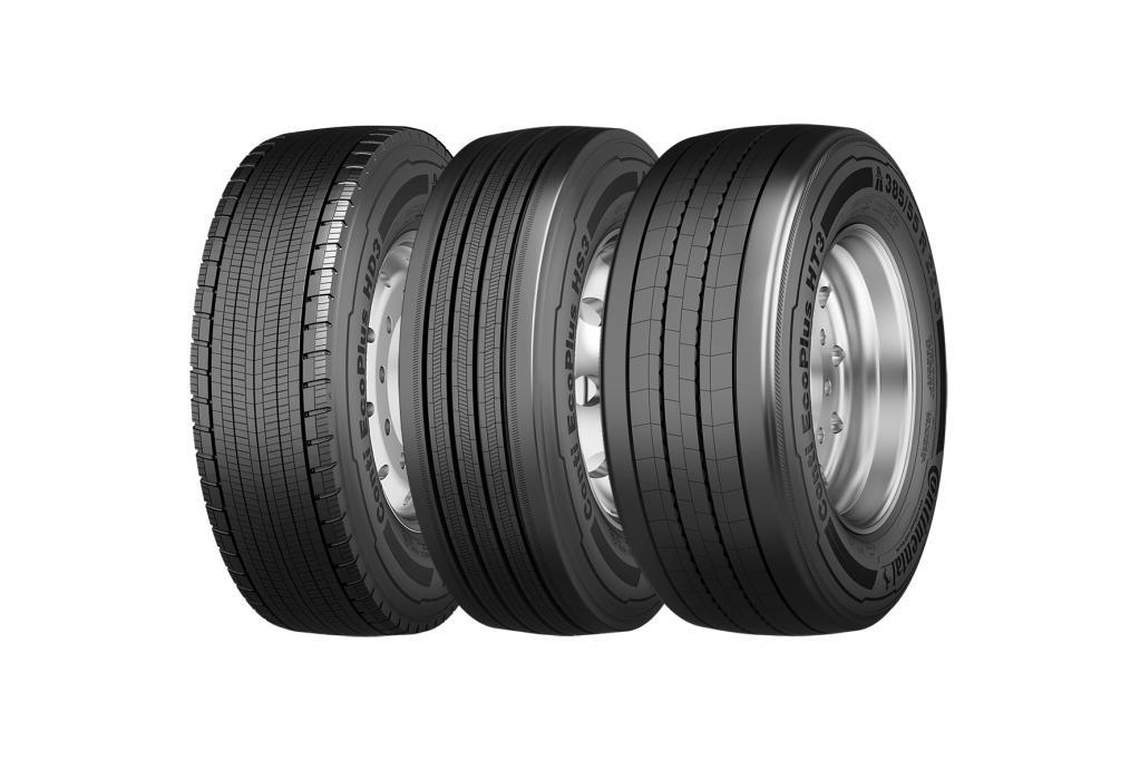 Spritsparen mit Hightech-Reifen auf Lkw