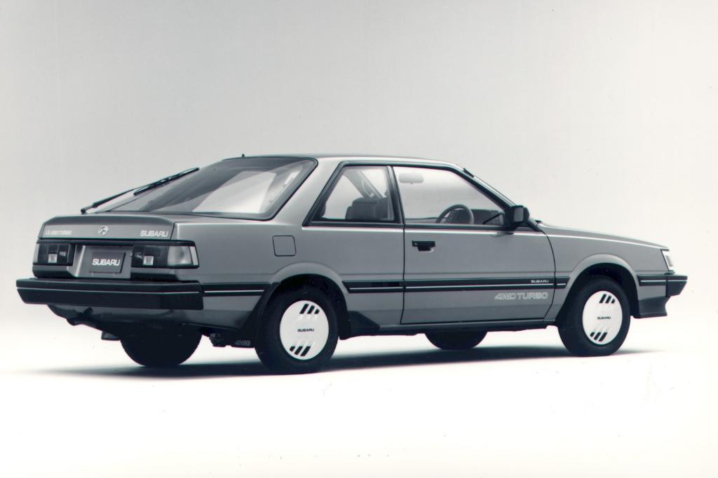 Subaru 1800 Coupe 4WD 1987