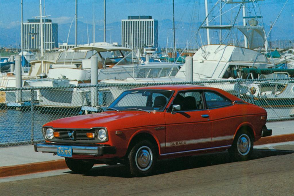 Subaru GF Coupe 1977