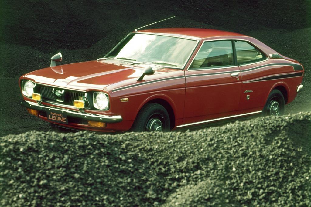 Subaru Leone Coupe Modell 1974